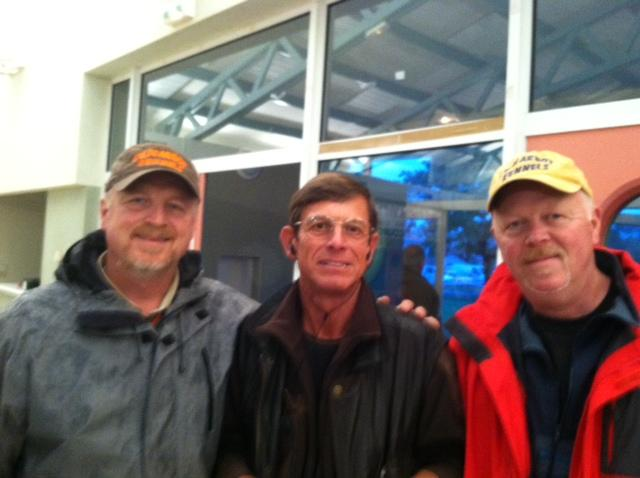 John, Bruce and Frederic Herbelin